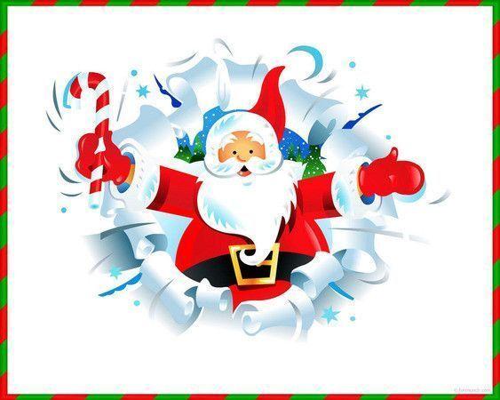 le père Noël Apparraît