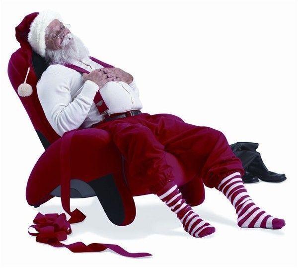 Plus que quelques jours de repos pour le Père Noël