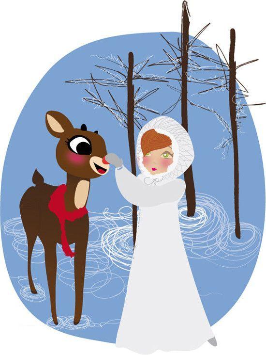 Dvd rudolph le petit renne au nez rouge - Dessin de renne au nez rouge ...