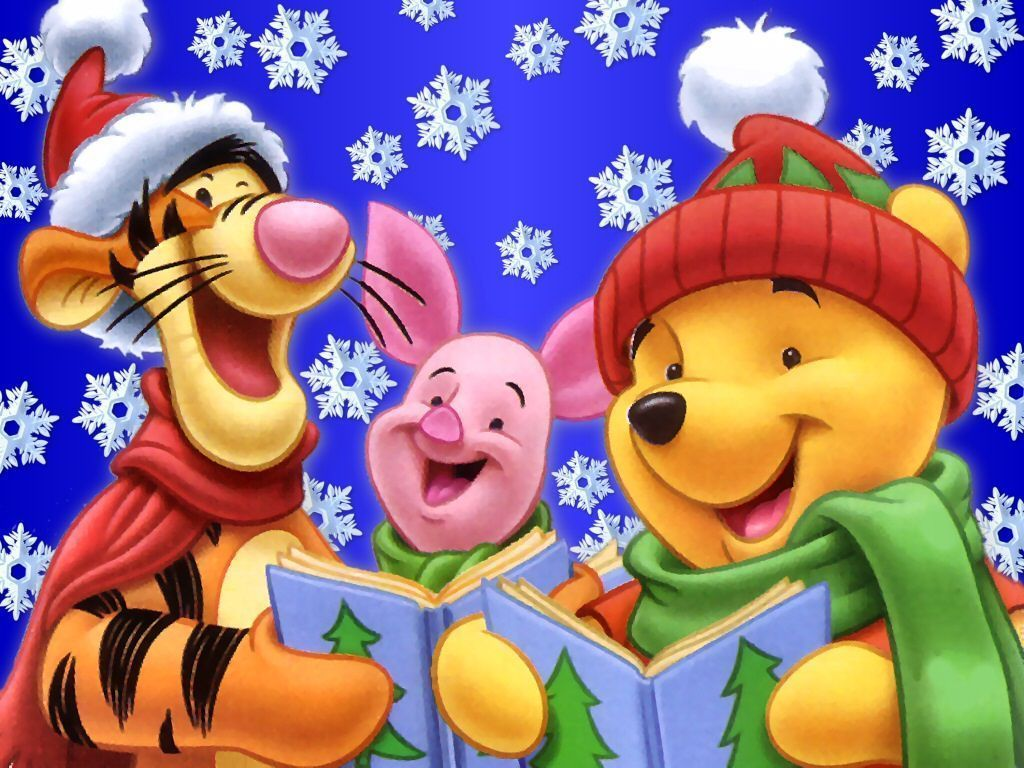 Winnie l 39 ourson et les chants de no l - Winnie l ourson noel ...